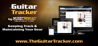 Guitar Tracker; by MusicNomad Equipment Care, Keeping Track & Maintaining Your Gear. www.TheGuitarTracker.com